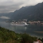 Bay of Kotor looks nice even on a crap day