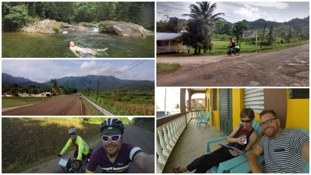 Cycle touring in Belize