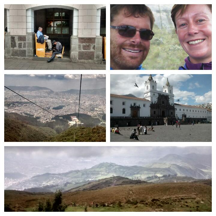 Cycle touring in Ecuador