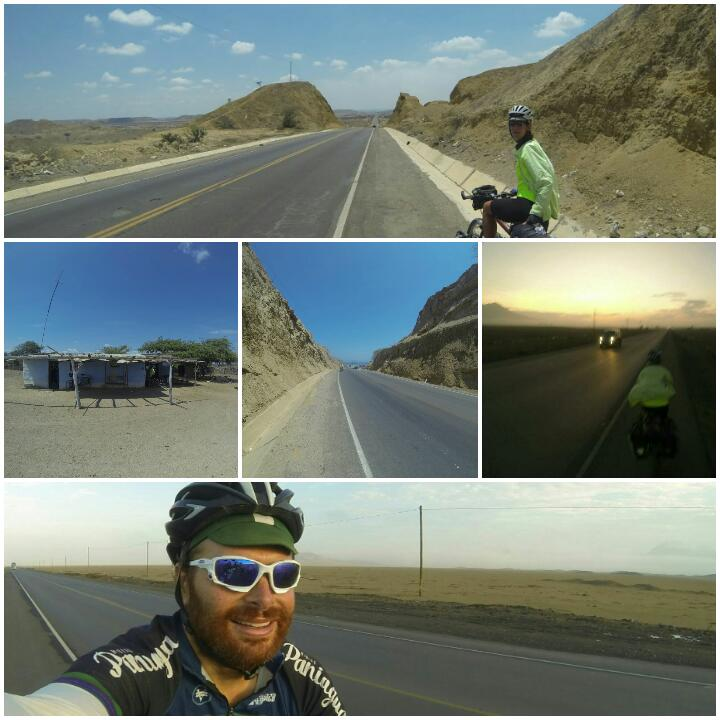 Cycle touring in Peru